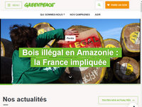 Lien vers Greenpeace France